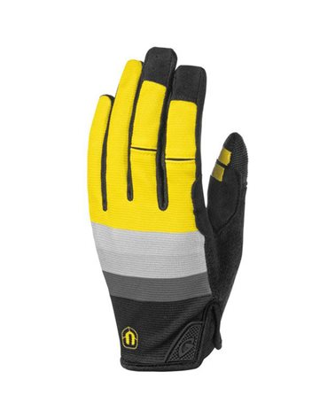 Mondraker by Giro DND Down & Dirty Gloves, Yellow/Grey/Black