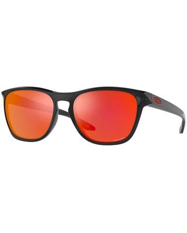 Oakley Manorburn Glasses Black Ink/Prizm Ruby