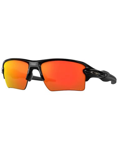 Oakley Flak 2.0 XL Glasses Polished Black/Prizm Ruby Polarized