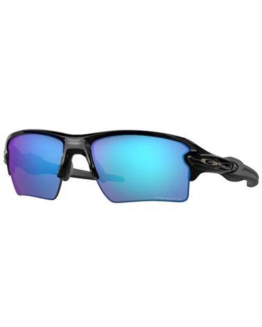 Oakley Flak 2.0 XL Cycling Glasses Polished Black/Prizm Sapphire Iridium Polarized
