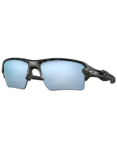 Oakley Flak 2.0 XL Cycling Glasses Matte Black Camo/Prizm Deep Water Polarized