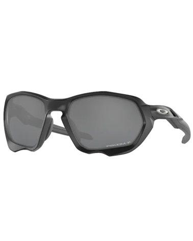 Oakley Plazma Sports Glasses Matte Black/Prizm Black Polarized