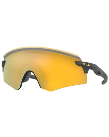 Oakley Encoder Cycling Glasses Matte Carbon/Prizm 24k