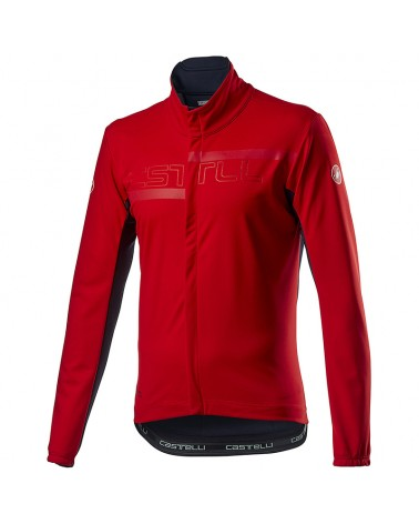 Castelli Transition 2 Light GTX Gore-Tex Windstopper Giacca Antipioggia/Antivento Uomo, Red