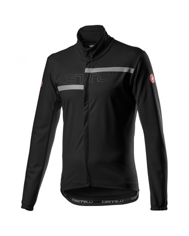 Castelli Transition 2 Light GTX Gore-Tex Windstopper Giacca Antipioggia/Antivento Uomo, Light Black