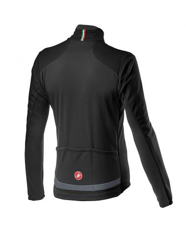 Castelli Transition 2 GTX Gore-Tex Windstopper Men's Light Cycling Jacket, Light Black