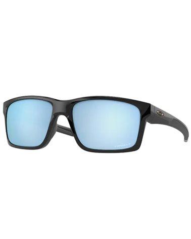 Oakley Mainlink Glasses Polished Black/Prizm Deep Water Polarized