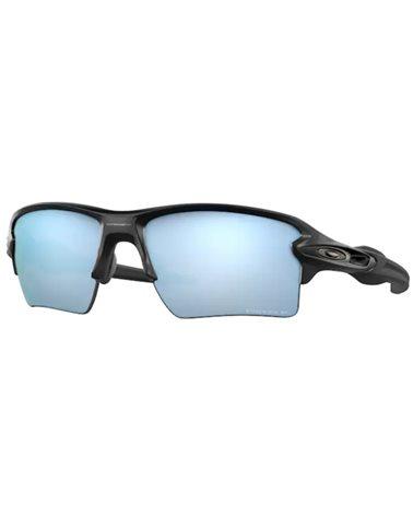 Oakley Flak 2.0 XL Cycling Glasses Matte Black/Prizm Deep Water Polarized