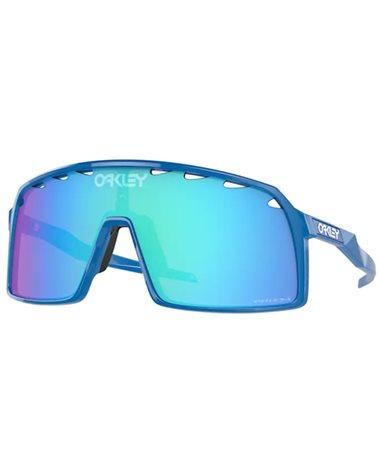 Oakley Sutro Cycling Glasses Sapphire/Prizm Sapphire
