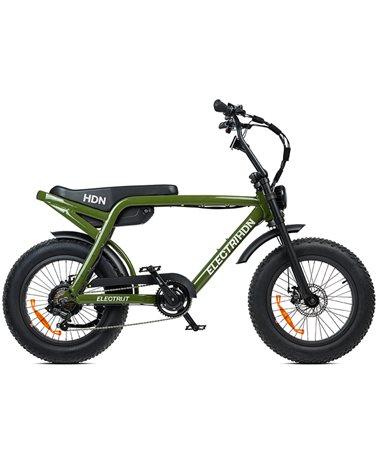 "Electri HDN e-Bike Fat 20"" 250W, Glossy Green"