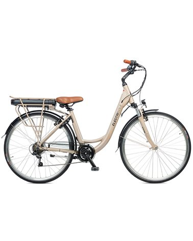 "Electri Sole 28"" e-Bike 250W 14Ah Battery, Matte Sand"