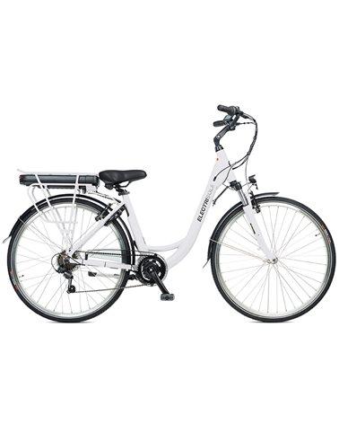 """Electri Sole 28"""" e-Bike 250W 14Ah Battery, Matte White"""