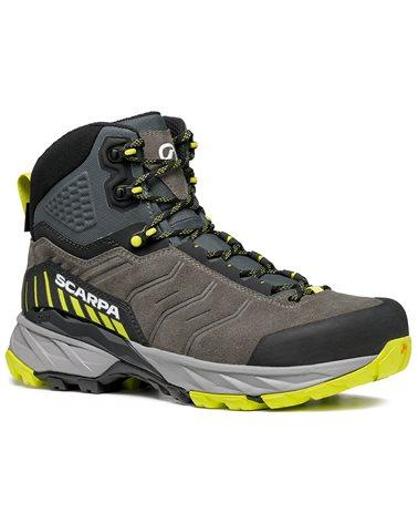 Scarpa Rush TRK GTX Gore-Tex Men's Hiking Boots, Titanium/Lime