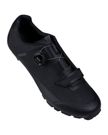 Mavic Crossmax Elite SL Men's MTB Cycling Shoes, Black/Black/Black