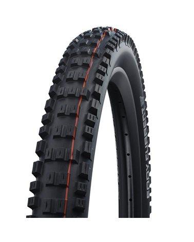 Schwalbe Eddy Current Front 29x2.40 EVO Super Trail Addix Soft Tubeless Ready Tyre, Black