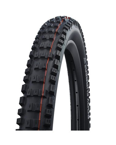 Schwalbe Eddy Current Front 27.5x2.80 EVO Super Trail Addix Soft Tubeless Ready Tyre, Black