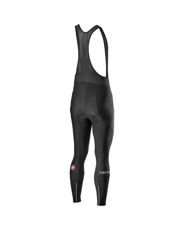 Castelli Entrata Bibtight Salopette Lunga Uomo, Black (Fondello Kiss Air2)