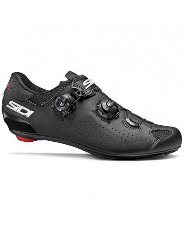 Sidi Genius 10 Men's Road Cycling Shoes, Black/Grey