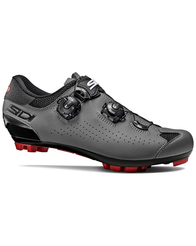 Sidi Eagle 10 Men's MTB Cycling Shoes, Black/Grey