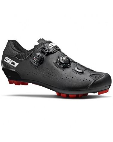 Sidi Eagle 10 Men's MTB Cycling Shoes, Black/Black