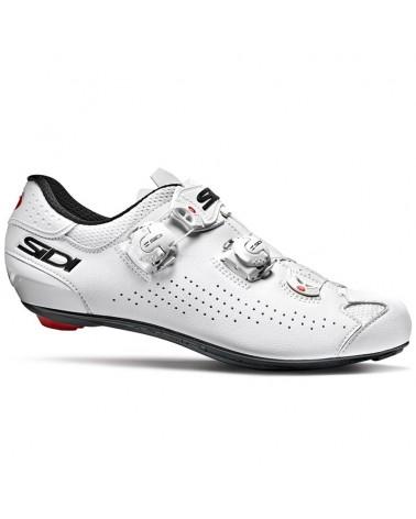 Sidi Genius 10 Men's Road Cycling Shoes, White/White