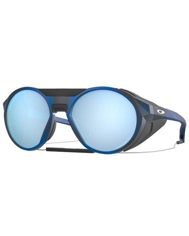 Oakley Occhiali Clifden Matte Translucent Blue/Prizm Deep H2O Polarized