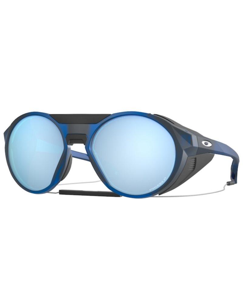 Oakley Clifden Glasses Matte Translucent Blue/Prizm Deep H2O Polarized