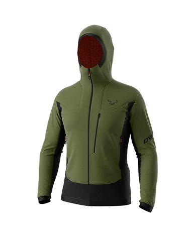 Dynafit Free Alpha Direct Men's Ski Touring Jacket, Winter Moss/0910