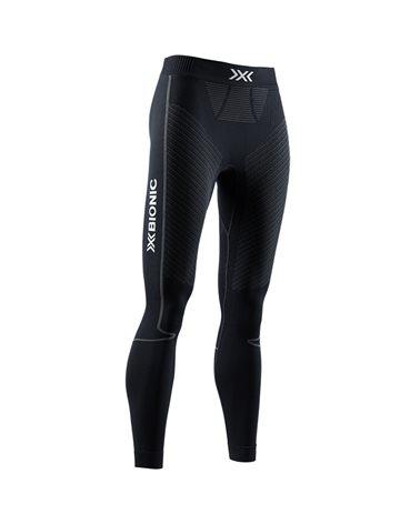 X-Bionic Invent 4.0 Women's Running Pants, Black/Charcoal