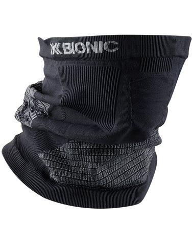 X-Bionic Neckwarmer 4.0 Scaldacollo, Charcoal/Pearl Grey
