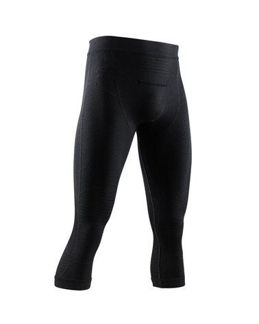 X-Bionic Apani 4.0 Merino Men's Baselayer 3/4 Pants, Black/Black