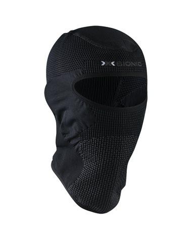 X-Bionic Stormcap Eye 4.0 Balaclava Passamontagna, Black/Charcoal