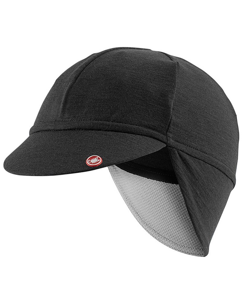 Castelli Bandito Winter Cycling Skullcap, Light Black (One Size Fits All)