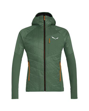 Salewa Ortles Hybrid TirolWool/Celliant Packable M'ens Jacket, Duck Green/4570