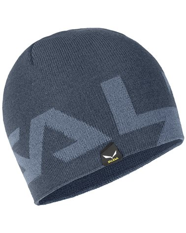 Salewa Antelao 2 Reversible Wool Beanie, Ombre Blue/0310 (58 One Size Fits All)