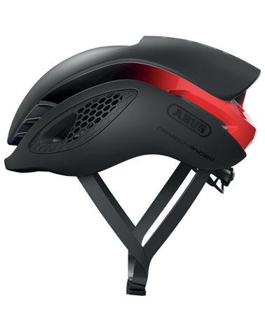 Abus GameChanger Road Cycling Helmet, Black/Red