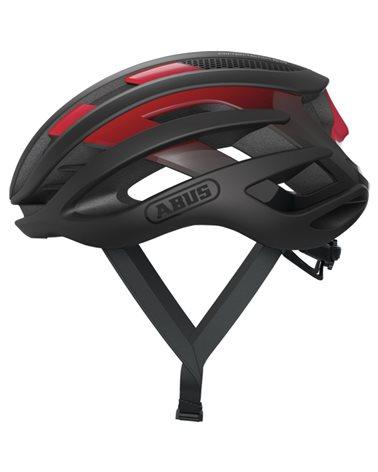 Abus AirBreaker Road Cycling Helmet, Black/Red