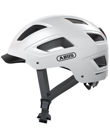 Abus Hyban 2.0 Urban Cycling Helmet, Polar White
