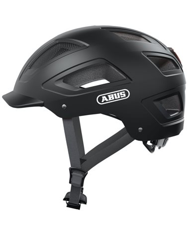 Abus Hyban 2.0 Urban Cycling Helmet, Velvet Black