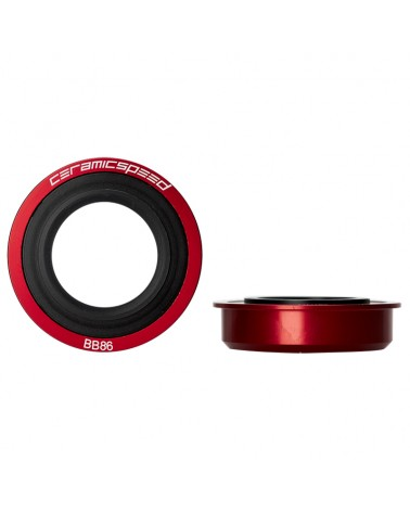 CeramicSpeed 105339 Movimento Centrale BB86 Sram GXP Rosso