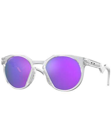 Oakley HSTN Glasses Matte Clear/Prizm Violet