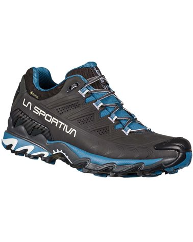 La Sportiva Ultra Raptor II Leather GTX Gore-Tex Women's Hiking Shoes, Carbon/Atlantic