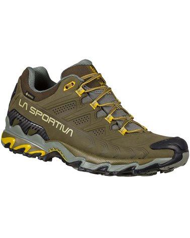 La Sportiva Ultra Raptor II Leather GTX Gore-Tex Men's Hiking Shoes, Ivy/Cedar