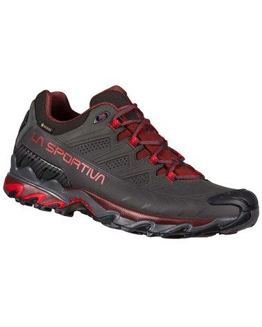 La Sportiva Ultra Raptor II Leather GTX Gore-Tex Men's Hiking Shoes, Carbon/Spice