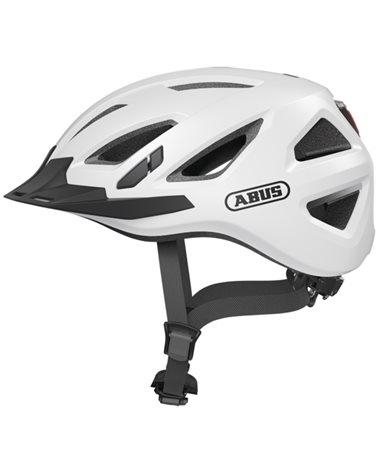 Abus Urban-I 3.0 Urban Cycling Helmet, Polar White