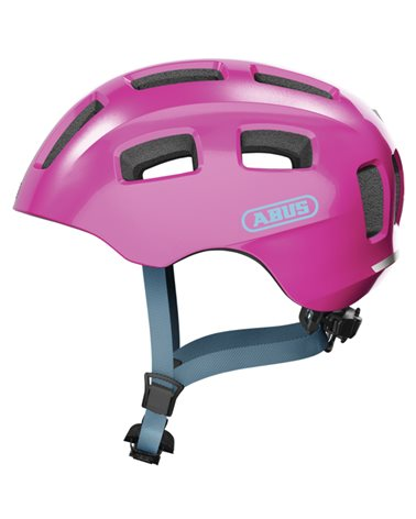 Abus Youn-I 2.0 Kids Cycling Helmet, Sparkling Pink