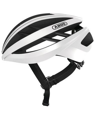 Abus Aventor Road Cycling Helmet, Polar White