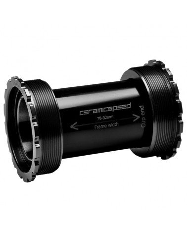 CeramicSpeed 105150 Movimento Centrale T47/86 30mm Nero