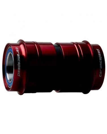 CeramicSpeed 101398 Bottom Bracket PF30 Sram GXP Red Coated