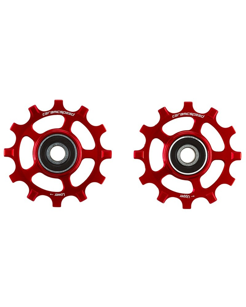 CeramicSpeed 107521 Pulley Campagnolo 12s Red Coated